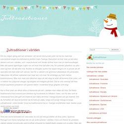 Jultraditioner i världen