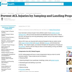 How to Jump and Land Properly to Prevent ACL Injuries