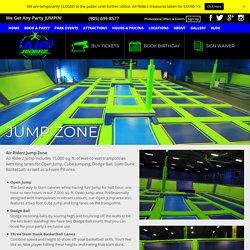 Jump Zone At Trampoline Park Aurora