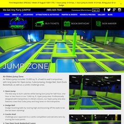 Book Your Ticket and Reserve Your Jump Time at Air Riderz Trampoline park Mississauga
