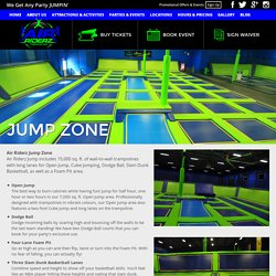 Wanna Jump? Visit our Jump Zone at AirRiderz in Mississiauga