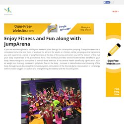 jumparena - Enjoy Fitness and Fun along with jumpArena