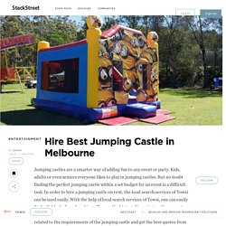 Hire Best Jumping Castle in Melbourne