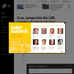 Cree Jumps Into the LED Lighting Controls Market