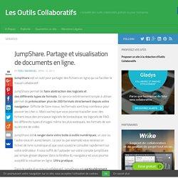 JumpShare. Partage et visualisation documents en ligne