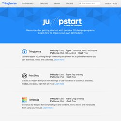 Jumpstart - Learn 3D design.