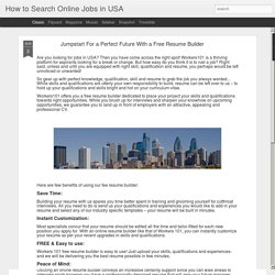 How to Search Online Jobs in USA