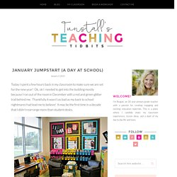 January Jumpstart {A Day at School} - Tunstall's Teaching Tidbits