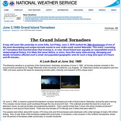 June 3,1980 Grand Island Tornadoes