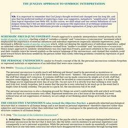 Jungian Approach