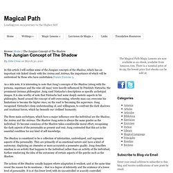 The Jungian Concept of The Shadow : Magical Path