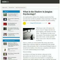 What Is the Shadow in Jungian Psychcology?