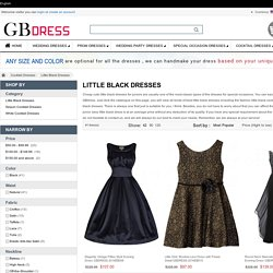 Best Junior Cute Little Black Dresses for You to Choose - GBdress