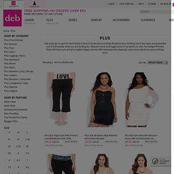shop plus size fashion at debshops.com