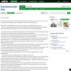 Junior - Svenskanoveller Wiki