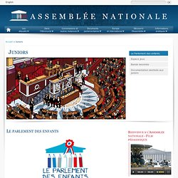 Juniors - Assemblée nationale
