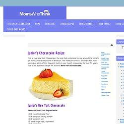 Juniors New York Cheesecake