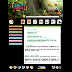 Les Pages Juniors.com, le moteur de recherche pour les enfants.