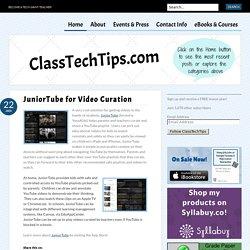 JuniorTube for Video Curation