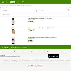 Juniper Oil - iHerb.com