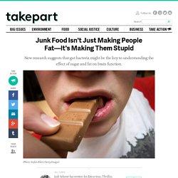 Junk Food Isn't Just Making People Fat—It's Making Them Stupid