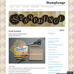 Junk Journal | Stamphenge