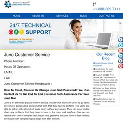 Juno 1-888-738-4333 Customer Care Toll Free Number