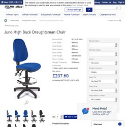Juno High Back Draughtsman Chair