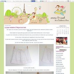 La jupe imitation Z*dig et son tuto - Emma et Noah, de la Caledonie à Paris