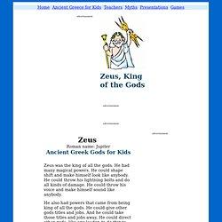 Zeus & Jupiter - Ancient Greek & Roman Gods for Kids