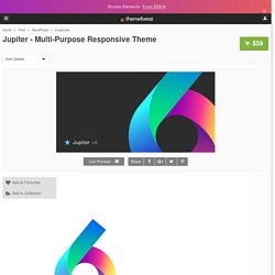 Jupiter - Multi-Purpose Responsive Theme by artbees