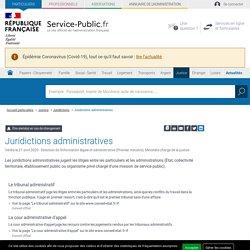 Les juridictions administratives