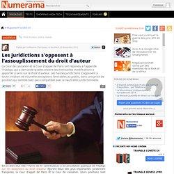 Les juridictions s'opposent à l'assouplissement du droit d'auteur