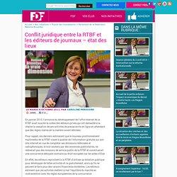 Conflit juridique entre la RTBF et les éditeurs de journaux – état des lieux - Les Fédéralistes Démocrates Francophones