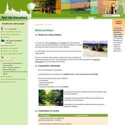 Choisir le statut juridique d'une exploitation agricole