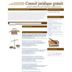 Conseil juridique gratuit en ligne, information juridique gratuite, aide juridique gratuite en ligne (1) (conseil et information juridique)