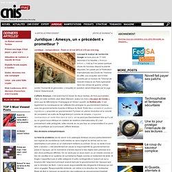 Juridique : Amesys, un « précédent » prometteur ?
