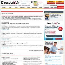 Veille juridique du secteur social et médico-social - Directions.fr