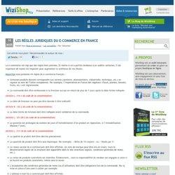 » Les règles juridiques du e-commerce en France