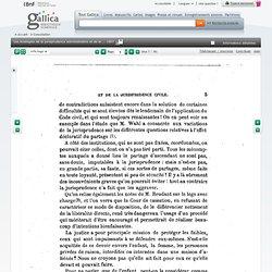"""Les Analogies de la jurisprudence administrative et de la jurisprudence civile, par J. Charmont,... (Extrait de la """"Revue trimestrielle de droit civil"""", 1906, n° 4.)"""