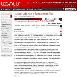 Cour de cassation Chambre sociale Arrêt du 4 avril 2012