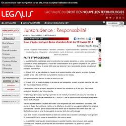 Cour d'appel de Lyon 8ème chambre Arrêt du 11 février 2014