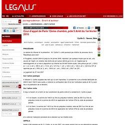 Jurisprudence actualité Droit Internet