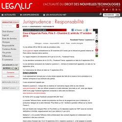 Cour d'Appel de Paris, Pôle 5 - Chambre 2, arrêt du 17 octobre 2014