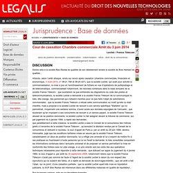 Cour de cassation Chambre commerciale Arrêt du 3 juin 2014