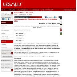 Droit du travail technologies avanc es pearltrees for Chambre criminelle
