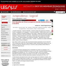 Cour de justice de l'Union européenne Grande chambre Arrêt du 2 mai 2012