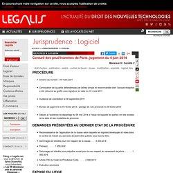 Conseil des prud'hommes de Paris, jugement du 4 juin 2014