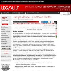Cour d'appel de Versailles 5ème chambre - 31 mars 2011