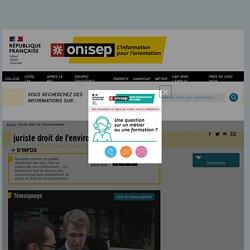 juriste droit de l'environnement - Onisep
